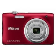 Nikon Coolpix A100 vörös digitális fényképezőgép