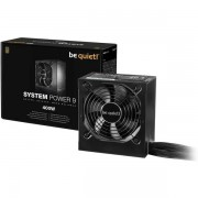 Be Quiet! 400W System Power 9 Psu, 80 Bronze, Dual 12V, Cont. Power Uk