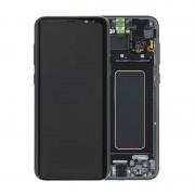 Estrutura para a Parte Frontal e Ecrã LCD GH97-20470A para Samsung Galaxy S8+ - Preto