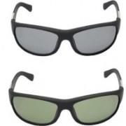 Devew Rectangular Sunglasses(Multicolor)