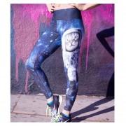 Mujeres Polainas Yoga Pantalones Jogging Correr Aptitud Gimnasio Pantalones