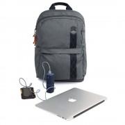 STM Banks Backpack - елегантна и стилна раница за MacBook Pro 15 и лаптопи до 15 инча (сив)