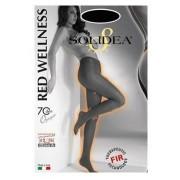 Solidea By Calzificio Pinelli Red Wellness 70 Denari Opaque Nero 2 Medium