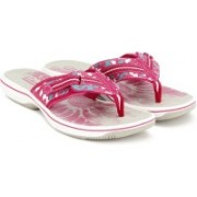 Clarks Brinkley Jazz Fuchsia Slippers