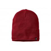 Jack Wolfskin Stormlock Knit Beanie - Mössa Vindtät - Röd - One Size