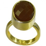 Red Onyx Gold Pleted Ring likely Red indian Indian gift