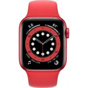 Apple Watch Series 6 44mm (GPS) Aluminium Case Red Sport Band Product Roșu