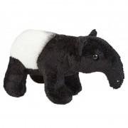 Merkloos Zwart/witte tapir knuffel 19 cm knuffeldieren