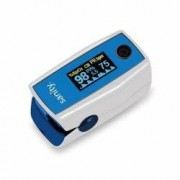 Pulsoximetru Sanity Duo Control 6 moduri de citire indica nivelul de saturatie a oxigenului masoara rata pulsului