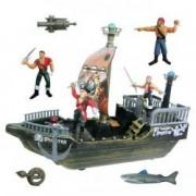 Set pirati Pirates cu vapor figurine rechin accesorii