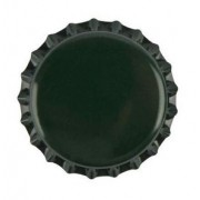 Nagy Méretű 29mm-s Söröskupak Zöld 20db (560)