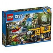 LEGO City kocke Jungle Mobile Lab - Džungla: Mobilna laboratorija 426 delova 60160