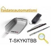 KIT AUTOMAZIONE PORTA SEZIONALE 24V T-SKYKITBB
