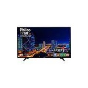 Smart TV LED 60 Philco PH60D16DSGWN Ultra HD 4k com Conversor Digital 3 HDMI 2 USB Wi-Fi 60Hz Preta
