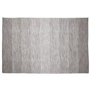 Tapis design 'WASH' 160x230 cm gris en coton