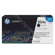 Тонер HP 504A за CP3525/CM3530, Black (5K), p/n CE250A - Оригинален HP консуматив - тонер касета