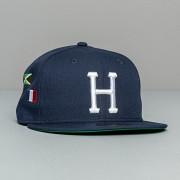 HUF x New Era Worl Tour Hat Dark Navy
