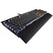 Corsair Gaming K70 LUX RGB Mechanical Keyboard, Cherry MX Red Layout ITA