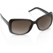 Sunmate Rectangular Sunglasses(Brown)