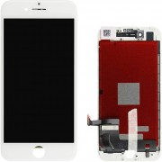 Compatibile Apple A - Vetro LCD per iPhone 7 - Bianco (Grado A)