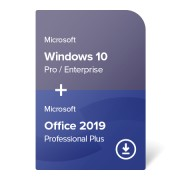 Windows 10 Pro / Enterprise + Office 2019 Professional Plus digital certificate