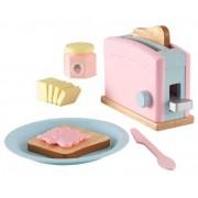 KidKraft Brödrost Frukostset Pastell