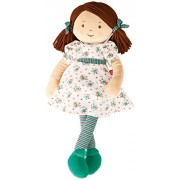 """Hape - My Doll """"Poppy"""" - Soft Doll Friend for Toddlers and Up!"""