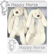 Set cadou Jucarii de plus Iepurasul Richie Ivory Happy Horse