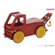 Camion din lemn pentru copii - culoare rosie