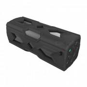 PT-390A BT 4.0 NFC impermeable a prueba de polvo a prueba de golpes altavoces (negro)
