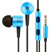 Maxy Mi Auricolare A Filo Stereo Super Bass Headphones In-Ear Jack 3,5mm Universale Blu Per Modelli A Marchio Asus