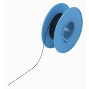 Cablu wire-wrap 1 x 0,20 mm², AWG 24, izolatie PVDF (Kynar 460), negru, 15 m, Conrad Components