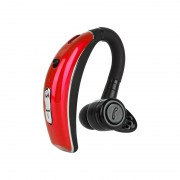 Q8 Wireless Bluetooth 4.1 Earhook Sports Headphone IPX6 Waterproof Support Voice Control - Red