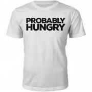 T-Junkie Camiseta Probably Hungry - Hombre - Blanco - XXL - Blanco