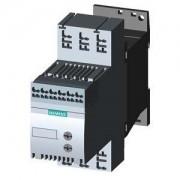 Lágyindító 12.5A, 3f 3-5.5Kw 200-480V motorokhoz, 110..230V AC/DC vezérlő feszültség, rugós csatlakozás, S00 méret (Siemens 3RW3017-2BB14)