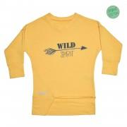 Bluza Wild - galben, 4-6 ani