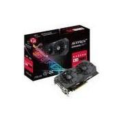 Placa De Vídeo Asus Radeon Rx 570 4gb Rog Strix Oc Edition Ddr5 256bits - Rog-strix-rx570-o4g-gaming