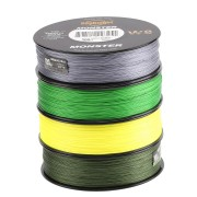 SeaKnight 500M/546YDS MONSTER W8 Braided Fishing Lines 8 Weaves Wire Smooth PE Multifilament Line