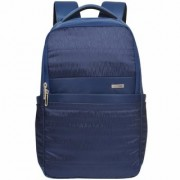 Eume Kevin 26 Ltr Laptop Backpack For 14 inch Laptop and Nylon Water Resistance Backpack- Navy Blue