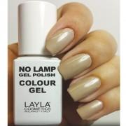 Layla - no lamp gel polish - smalto 5 dirty vanilla