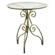 Kapelańczyk Szklany stolik kawowy Retro mały - Kapelańczyk