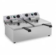 Fritadeira - 2 x 10 litros - 2 x 3200 W - timer