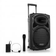 Ibiza Port12VHF-BT sound system USB SD bluetooth