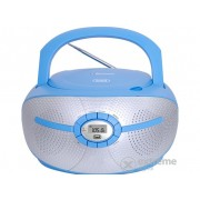 Radio CD Trevi CMP 552 Hordozható Bluetooth, albastru