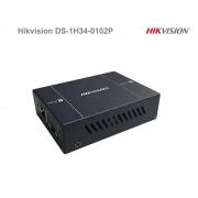Dvojkanálový PoE opakovač Hikvision DS-1H34-0102P max 400m