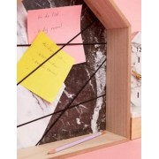 Mimo Marble Effect Message Board - Multi