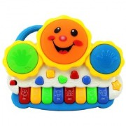 Drum Keyboard Musical Toys for kids with flashing lights and lots of fun