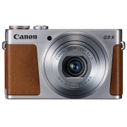 Aparat Foto Digital Canon PowerShot G9 X, 20.2 MP, Zoom Optic 3x, Filmare Full HD (Argintiu)