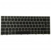 Teclado HP ProBook 5330, 5330m Series Neg Mco Plata Luminoso Español