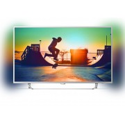 Philips 55 UHD, New model 2017 Android TV, Ambilight 2, HDR+, Pixel Plus UHD, Quad core, 900 PPI, 16 GB Internal memory, expandable, RC Keyboard, Micro Dimming Pro, DVB-T2/C/S2, DTS Premium Sound, 20W, Silver